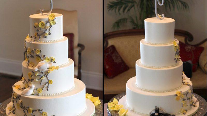 Batman Wedding Cake.White Doves On Wedding Cake Archives Ambrosia Cake Creations