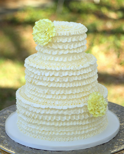 how to make ruffle wedding cake ruffle wedding cake ambrosia cake creations 15989